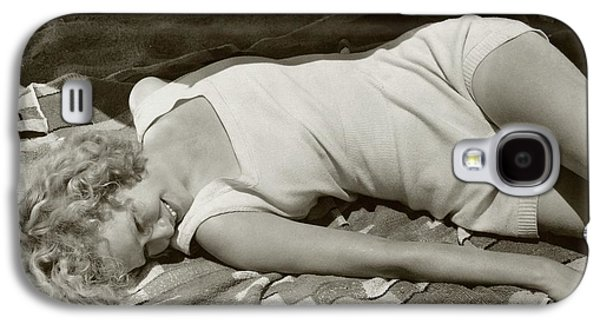 Miriam Hopkins At The Beach Galaxy S4 Case by Edward Steichen