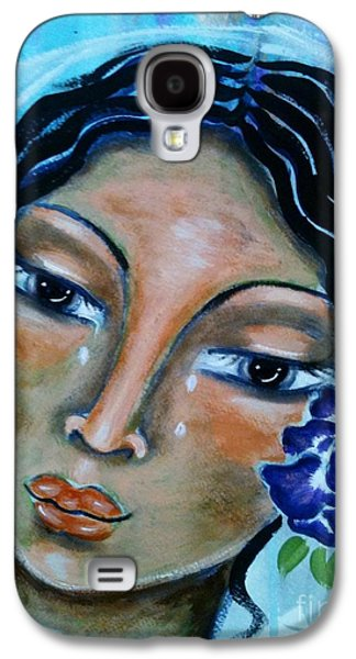 Miriamne Galaxy S4 Case by Maya Telford