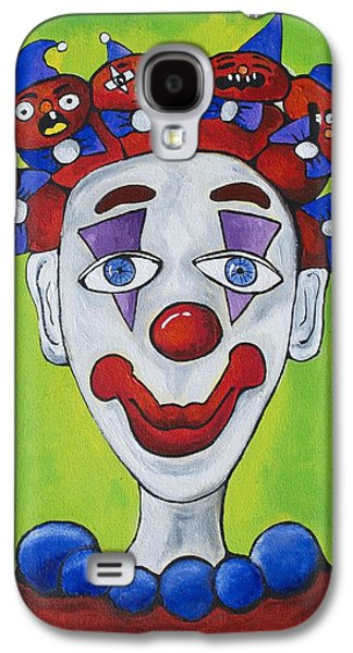 Miss.curly Clown Galaxy S4 Case by Patricia Arroyo