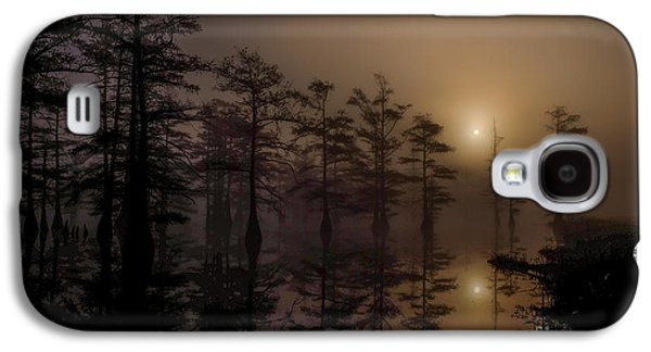 Mississippi Foggy Delta Swamp At Sunrise Galaxy S4 Case