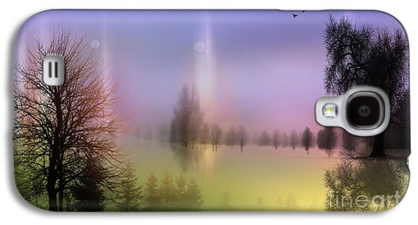 Mist Coloring Day 2 Galaxy S4 Case by Mark Ashkenazi