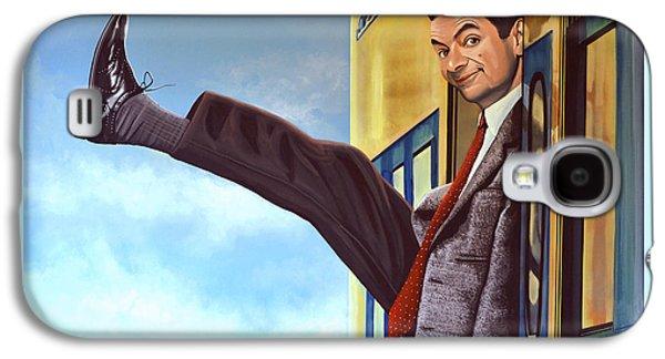 Mister Bean Galaxy S4 Case by Paul Meijering