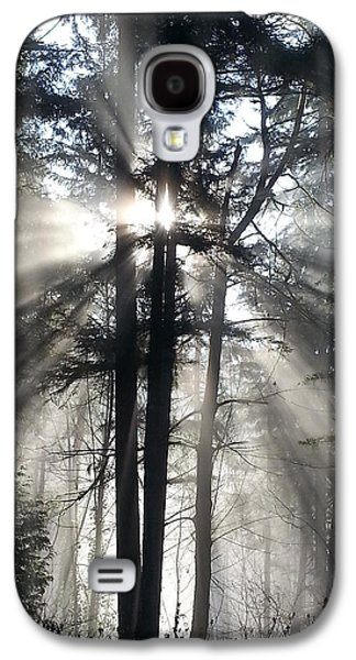 Misty Morning Sunrise Galaxy S4 Case by Crista Forest
