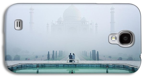 Misty Taj Mahal Galaxy S4 Case