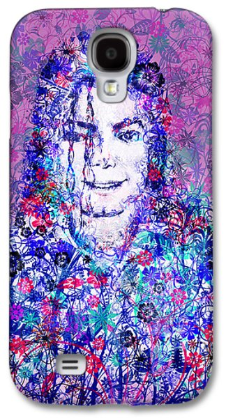 Mj Floral Version Galaxy S4 Case