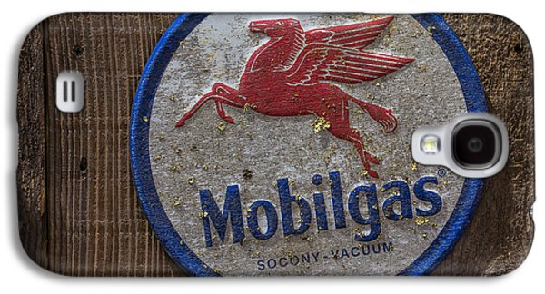 Mobil Gas Sign Galaxy S4 Case