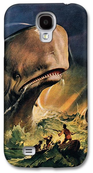 Moby Dick Galaxy S4 Case by James Edwin McConnell