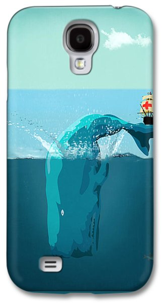 Moby Dick Galaxy S4 Case by Mark Ashkenazi