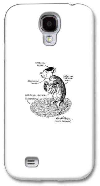 Mock Tennial Galaxy S4 Case by J.B. Handelsman