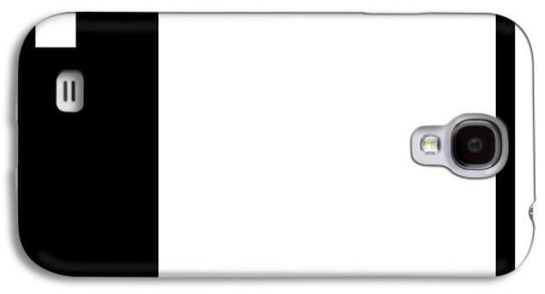 Moda 1 Inverse - Modern Art By Sharon Cummings Galaxy S4 Case by Sharon Cummings