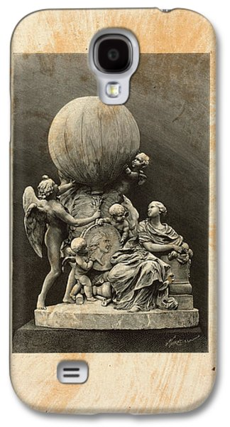 Model Of A Statue Dedicated To French Balloonists Galaxy S4 Case by English School