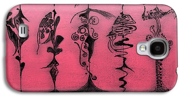 Galaxy S4 Case featuring the painting Tribute To Mr. R Lauren by James Lanigan Thompson MFA