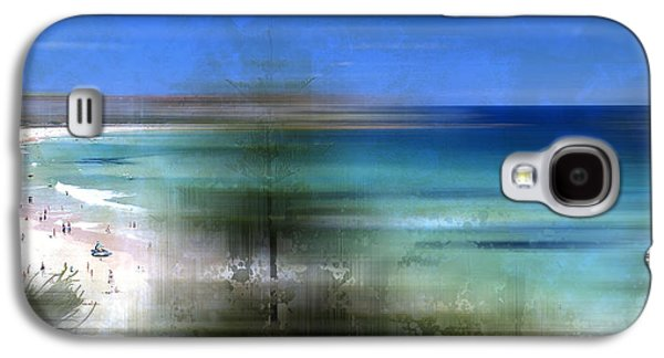 Modern-art Bondi Beach Galaxy S4 Case