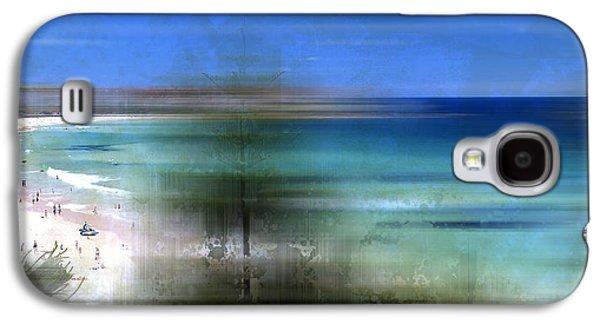 Modern-art Bondi Beach Galaxy S4 Case by Melanie Viola