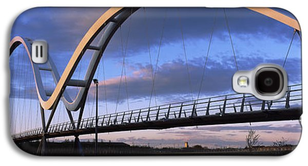 Modern Bridge Over A River, Infinity Galaxy S4 Case by Panoramic Images