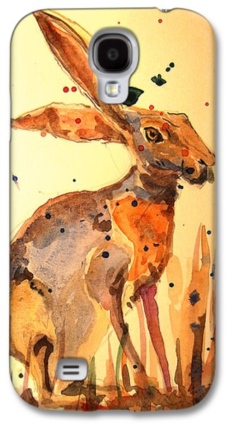 Rabbit Galaxy S4 Case - Modern Hare by Juan  Bosco