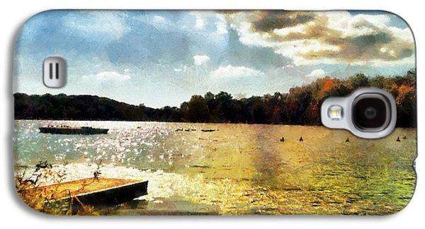 Mohegan Lake Gold Galaxy S4 Case