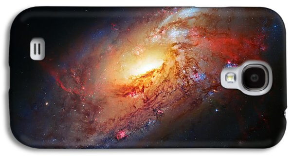 Molten Galaxy Galaxy S4 Case by Jennifer Rondinelli Reilly - Fine Art Photography
