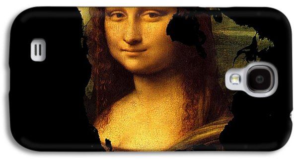 Mona Lisa  North America Galaxy S4 Case by John Clark