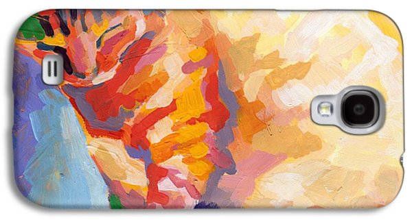 Mona Lisa's Rainbow Galaxy S4 Case