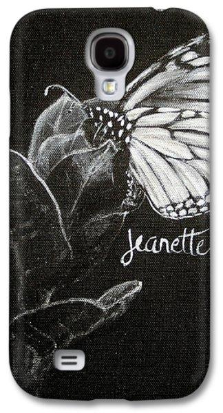 Monarch Butterfly On Milkweed Galaxy S4 Case