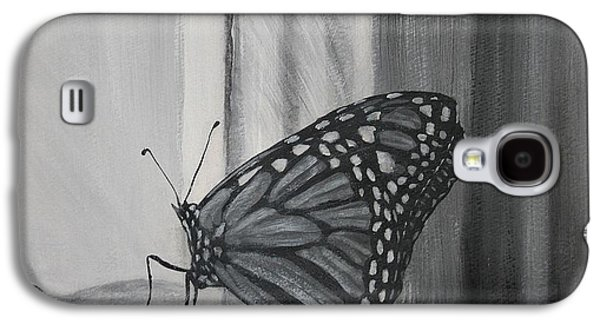 Monarch In The Window Galaxy S4 Case