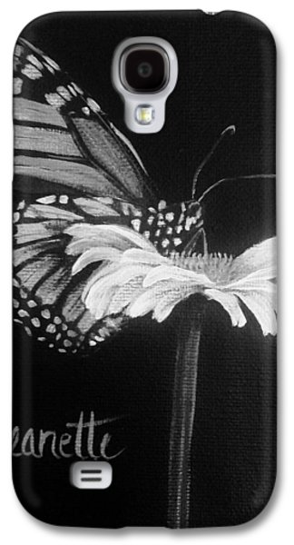 Monarch On A Daisy Galaxy S4 Case