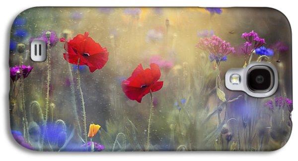 Monet's Garden I Galaxy S4 Case by Magda  Bognar