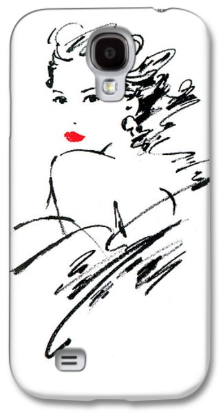 Monique Variant 1 Galaxy S4 Case by Giannelli
