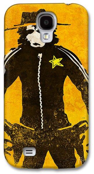 Monkey Sheriff Galaxy S4 Case by Pixel Chimp