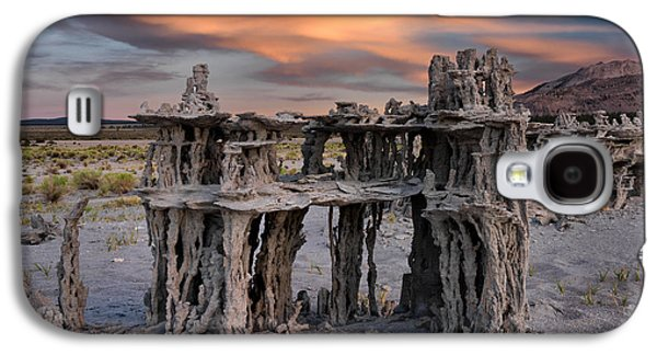 Mono Lake Textures Galaxy S4 Case