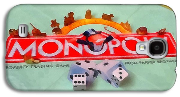 Monopoly Board Game Galaxy S4 Case by Dan Sproul