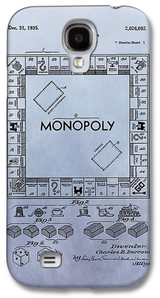 Monopoly Board Game Patent Galaxy S4 Case by Dan Sproul