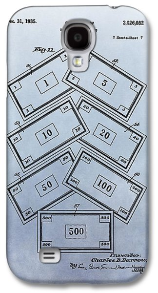 Monopoly Money Patent Galaxy S4 Case by Dan Sproul