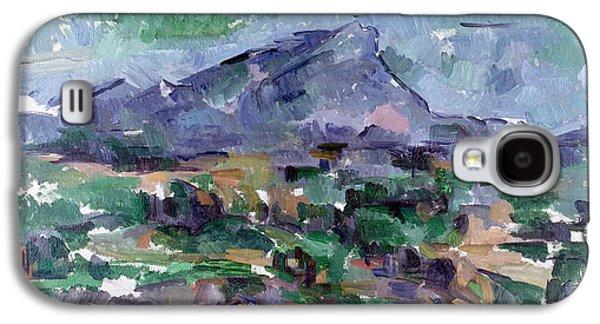 Montagne Sainte-victoire Galaxy S4 Case by Paul Cezanne