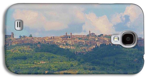 Montalcino Galaxy S4 Case by Marilyn Dunlap
