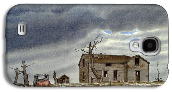 Truck Galaxy S4 Case - Montana Abandoned Homestead by Paul Krapf