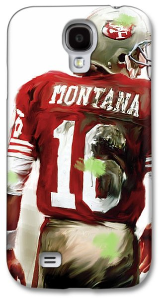Montana II  Joe Montana Galaxy S4 Case