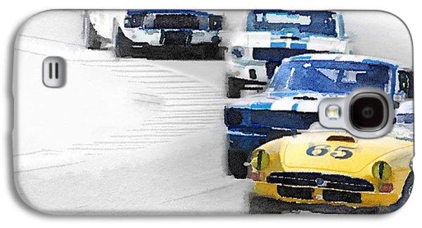 Monterey Racing Watercolor Galaxy S4 Case by Naxart Studio