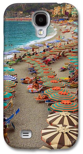 Monterosso Beach Galaxy S4 Case by Inge Johnsson