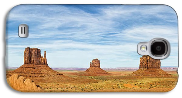 Monument Valley Panorama - Arizona Galaxy S4 Case by Brian Harig