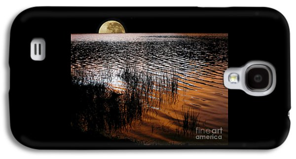 Moon Catching A Glimpse Of Sunset Galaxy S4 Case