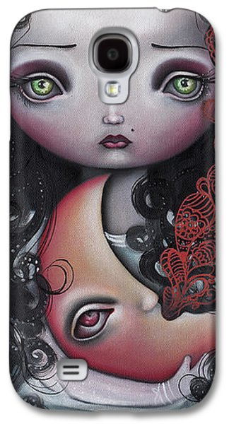 Moon Keeper Galaxy S4 Case by  Abril Andrade Griffith