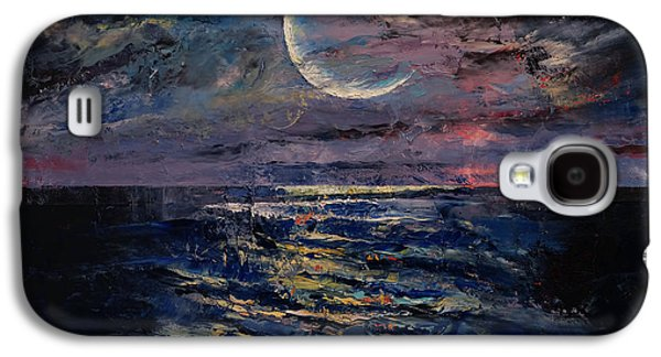 Moon Galaxy S4 Case by Michael Creese