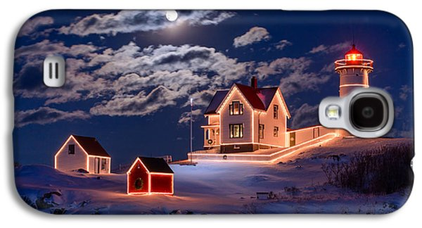 Moon Over Nubble Galaxy S4 Case