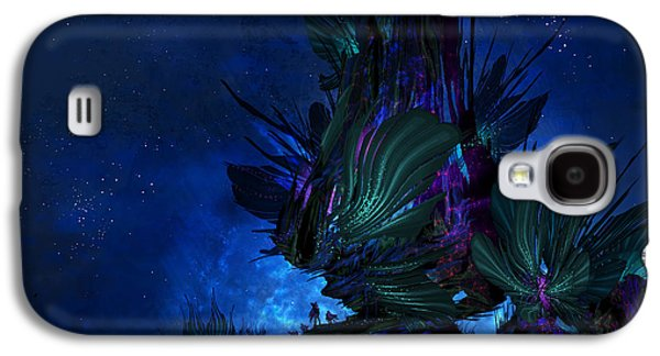 Moon Tree Hills Galaxy S4 Case