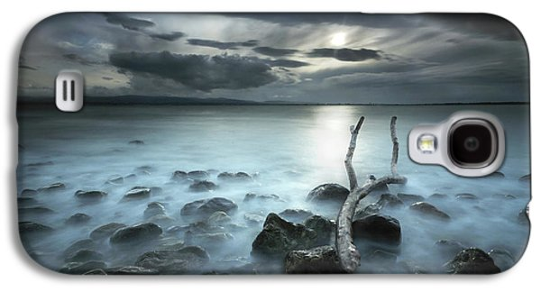 Beach Landscape Galaxy S4 Case - Moonland by Martin Marcisovsky