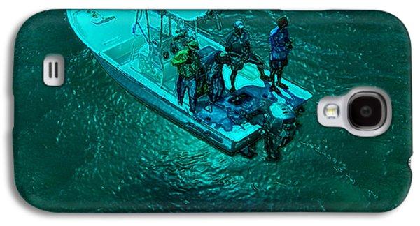 Moonlight Fishermen Galaxy S4 Case