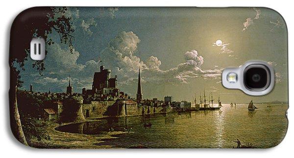 Moonlight Scene, Southampton, 1820 Galaxy S4 Case