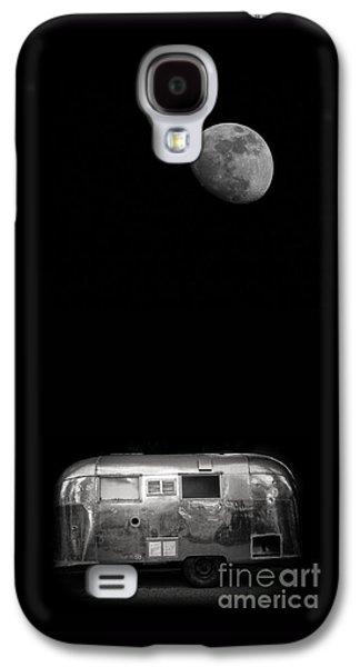 Moonrise Over Airstream Galaxy S4 Case